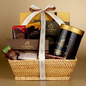 chocolate corporate gift basket